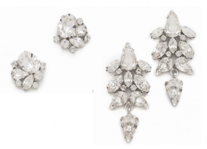 Elige joyas en cristales claros para que puedas combinarlas de maravilla - Foto ShopBop
