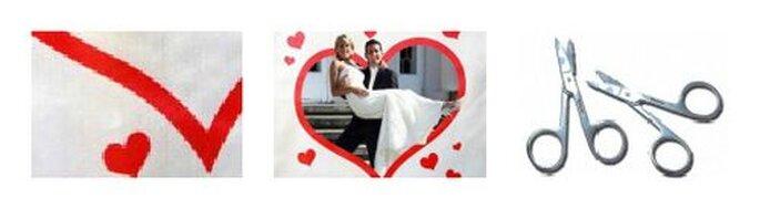Ein wunderschöner Rahmen für die Liebe! - Foto: Hochzeitsspiele24.de