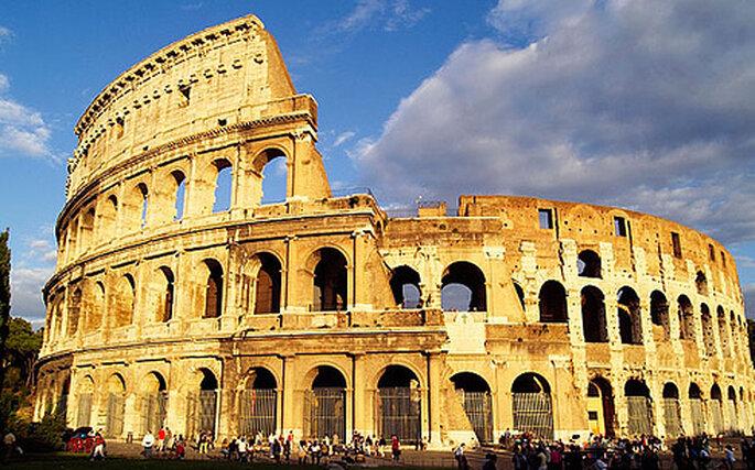 El imponente Coliseo Romano