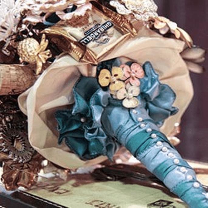 Ein Traum von Brautstrauss - Foto: Brooch-Bouquet-by-Fantasy-Floral-Designs