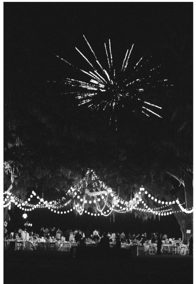 Cómo decorar una boda de noche - Foto Dave Lapham