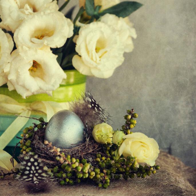 Ostereier als Hochzeitsdetail – Foto: shutterstock