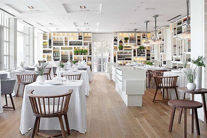 Gastronomía mediterránea contemporánea en la Enoteca del Hotel Arts. Foto: Hotel Arts