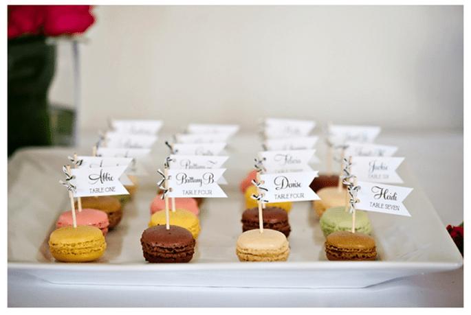 Macarons para el postre de tu boda - Foto Dana Goodson Photography