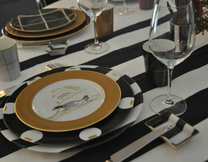 Marie Daâge : un service de table élégant, original et intemporel