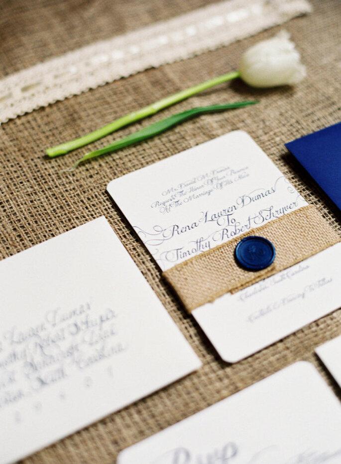decoración azul marino - Virgil Bunao Fine Art Weddings