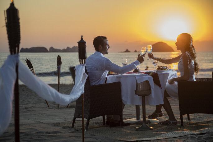 Cena Romántica en Ixtapa