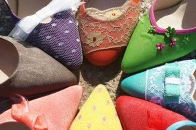 Nueva colección de zapatos de novia 2011 - Mademoiselle Rose