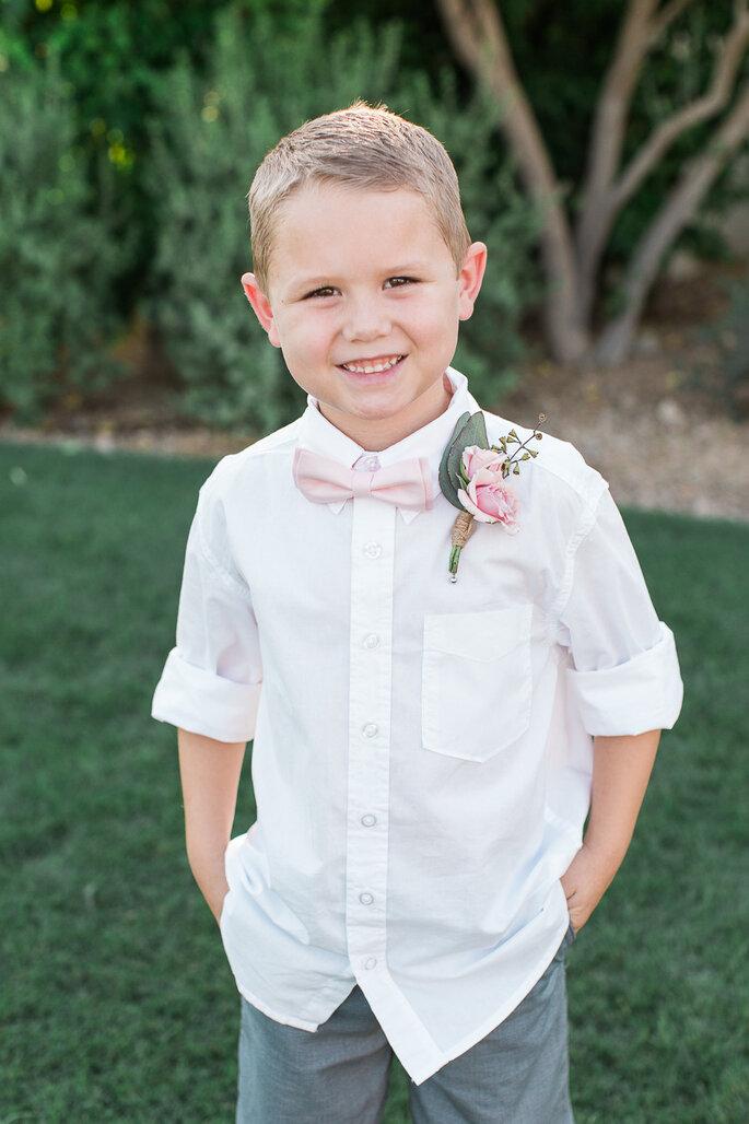 5 consejos de estilo para los pajecitos en el día de la boda. Foto- Rachel Solomon Photography