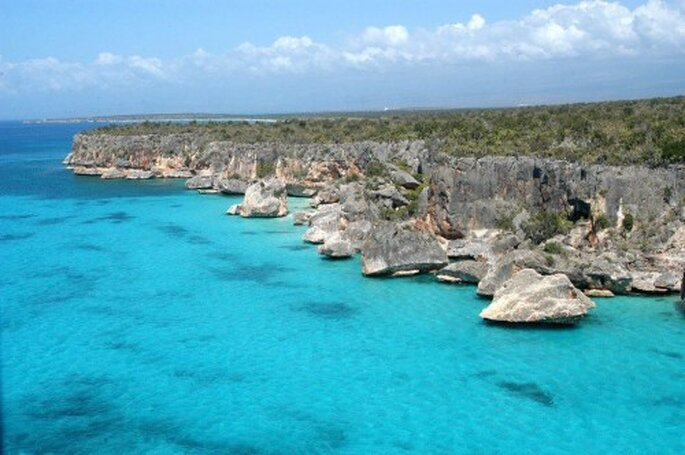 Vista una de las islas más increíbles - Foto Rep. Dominicana continente en miniatura facebook