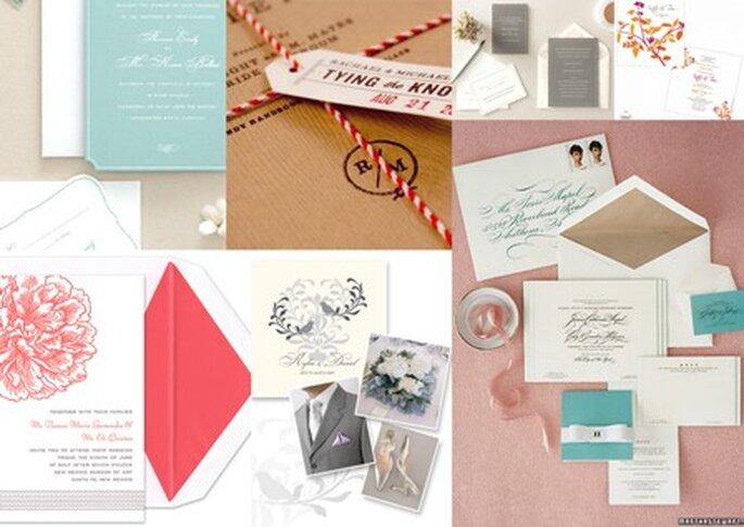 Convites de Casamento - www.marthastewart.com