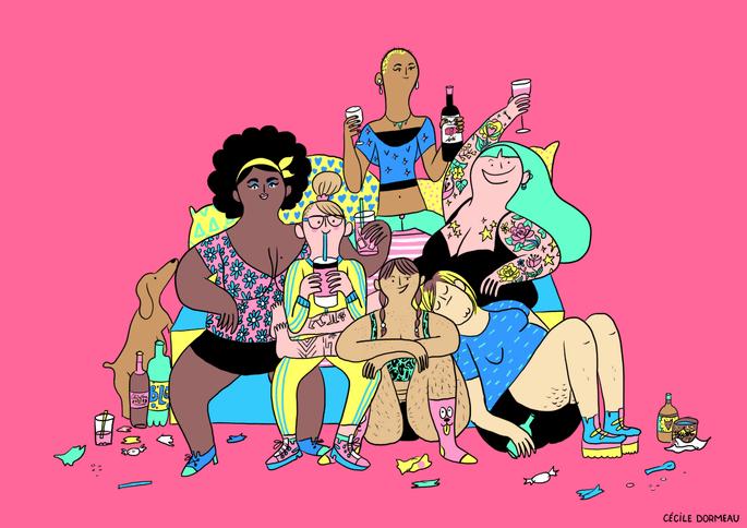 Illustration : Cécile Dormeau