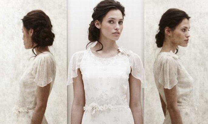 Acconciature da sposa dalle sfilate primaverili 2013 di Jenny Packham