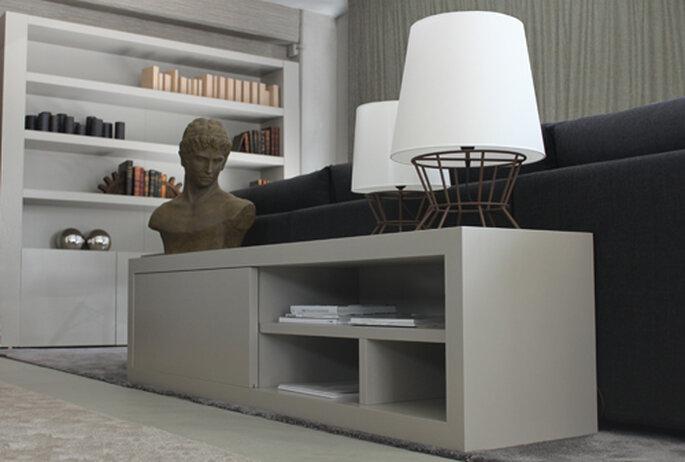 Mueble para televisión Beato. Foto: estudio41.