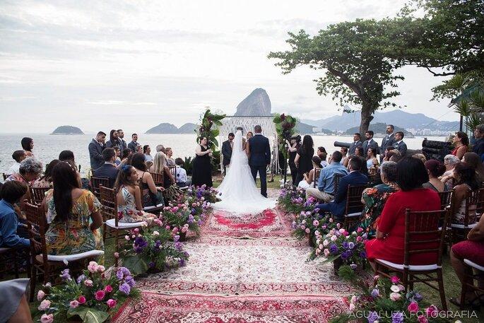 casamento no Zéfiro Eventos