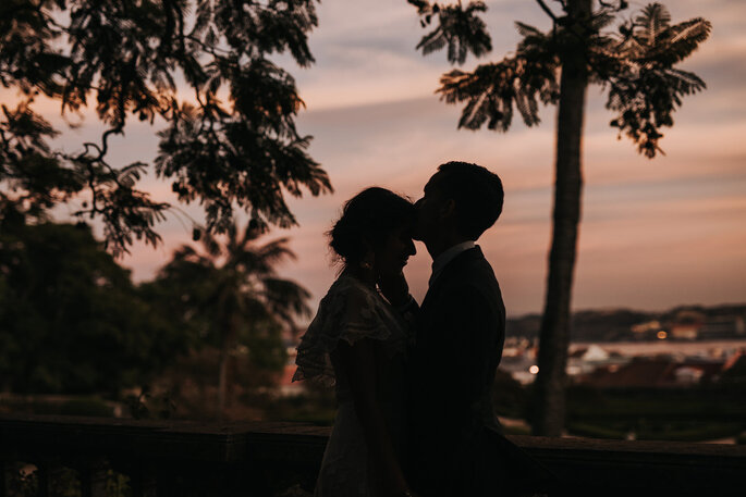 Sessão fotográfica pós-casamento