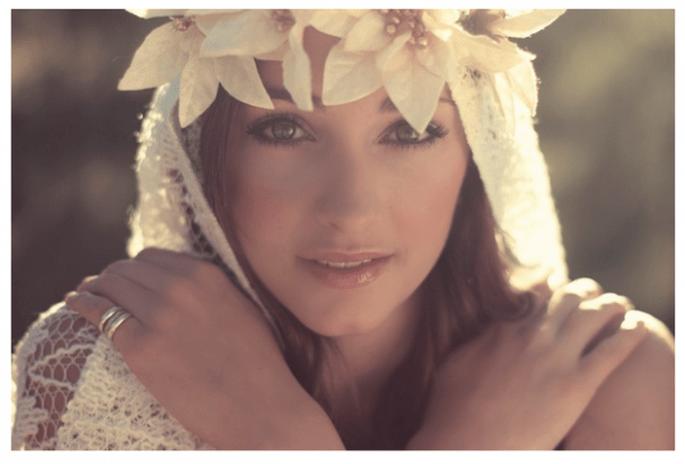 8 claves para lucir más joven con tu maquillaje de novia - Foto Claire Eliza