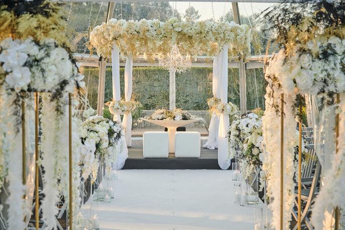 Decoração casamento luxuoso