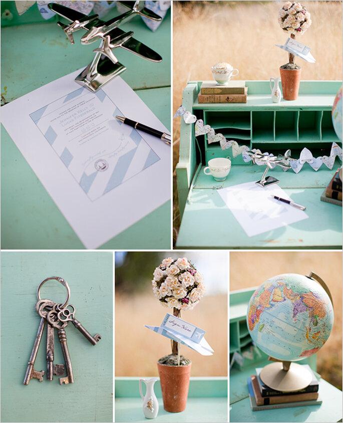 Elementos perfectos para un montaje de día - Foto Cat Mayer Studio