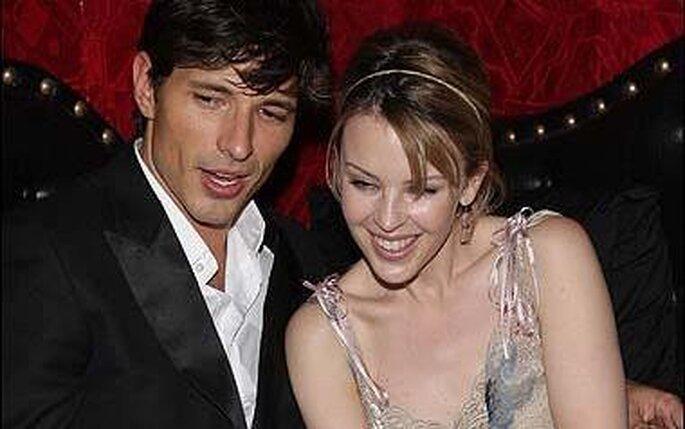 La première photo du couple Kylie Minogue et Andres Velencoso