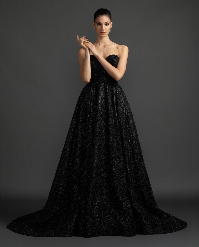 Vestidos de novia de color negro