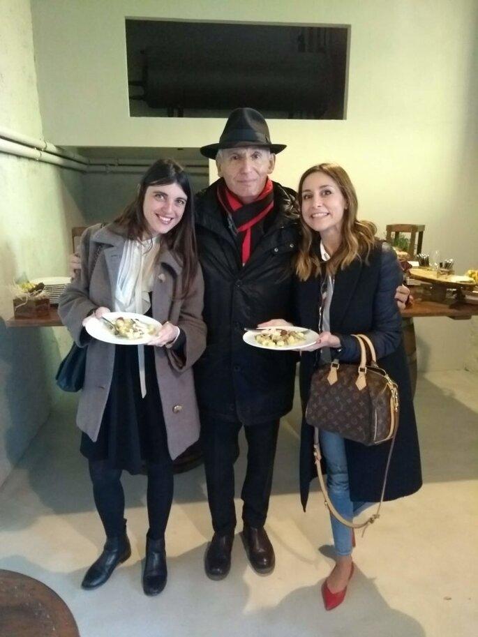 Con il proprietario di Villa Buon Viaggio