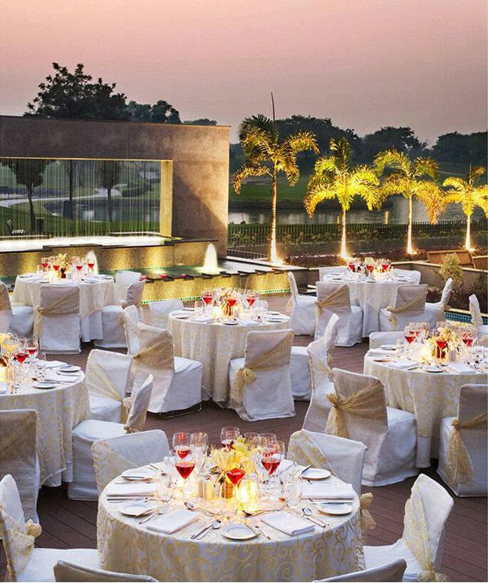 Hotel: Jaypee Greens Golf & Spa Resort.