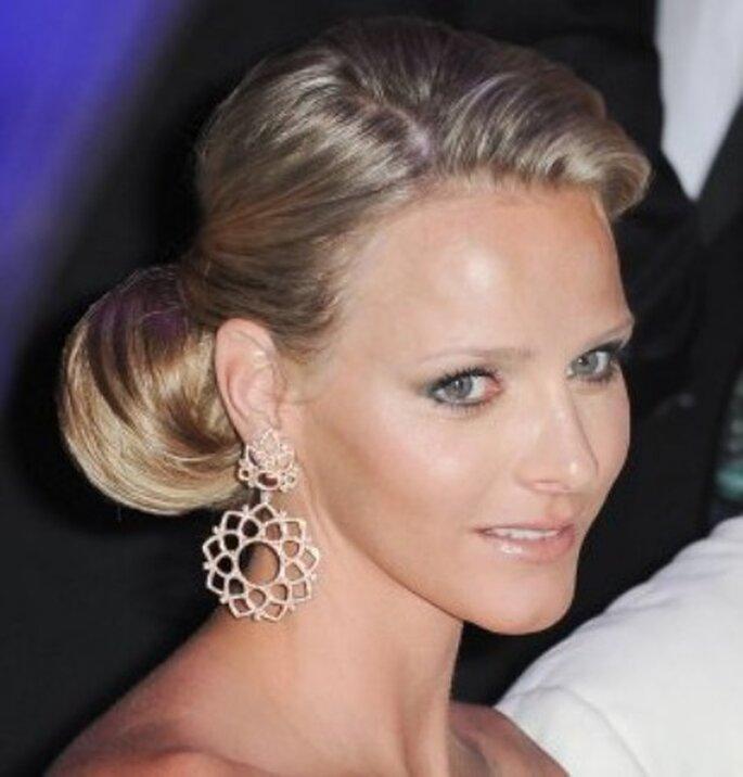 Pour quelle coiffure de mariée, Charlene Wittstock optera-t'elle ?