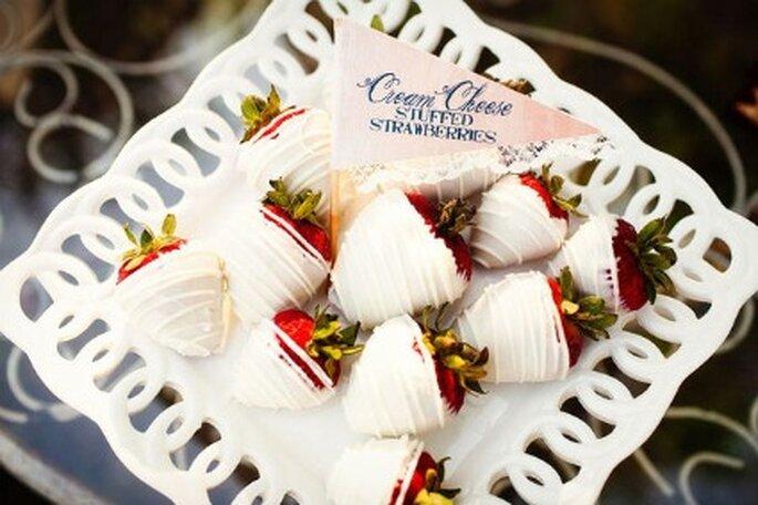 Cream cheese à la fraise - Photographe Allison Davis