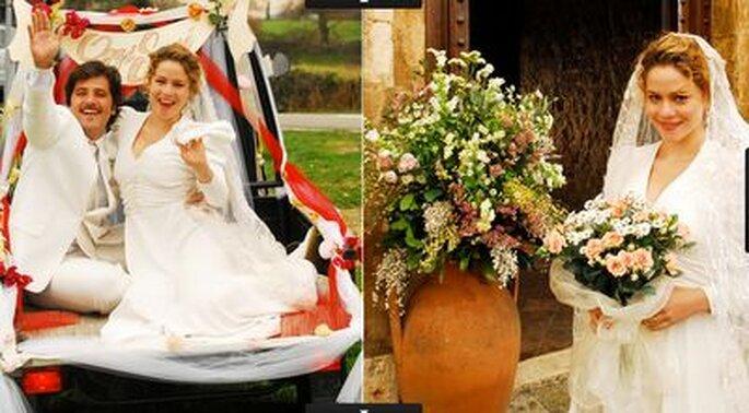 Novela Passione: Vestido de Noiva de Agostina