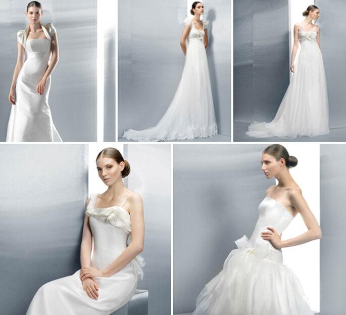 La simplicité est la clé des robes de mariée Jesus Peiro 2012