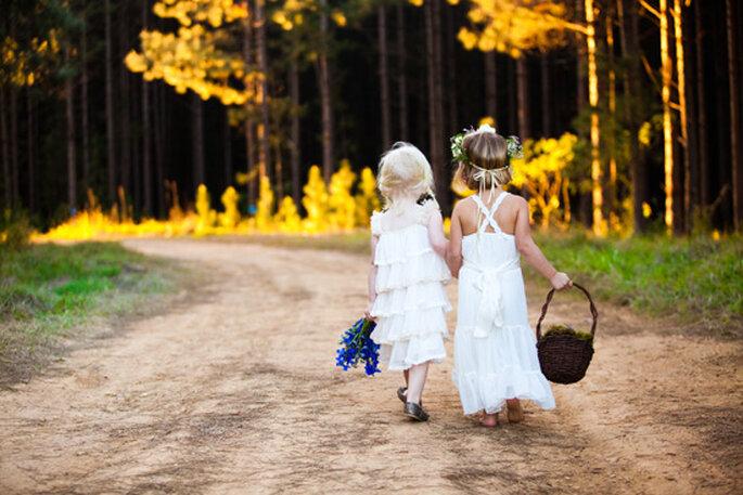 Fórmulas para disfrutar a los invitados más pequeños en tu boda - Foto Alana Aston Photohraphy