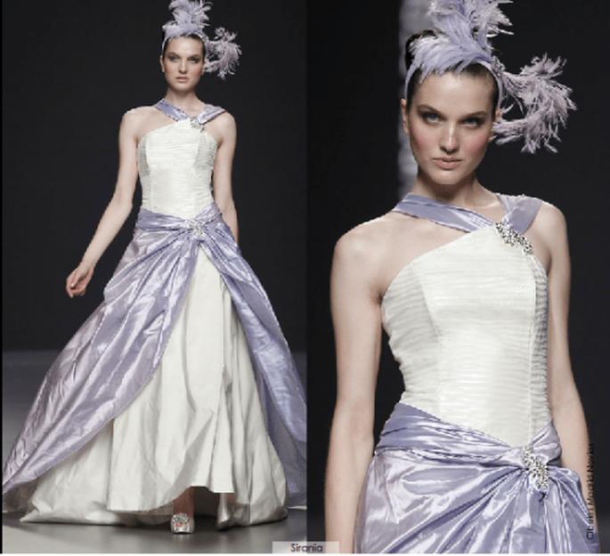 Vestido Sirania, colección 2012 Rubén Perlotti
