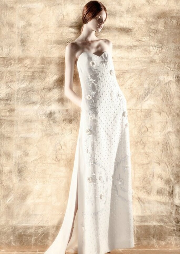Foto: DelPozo, colección de novia 2014