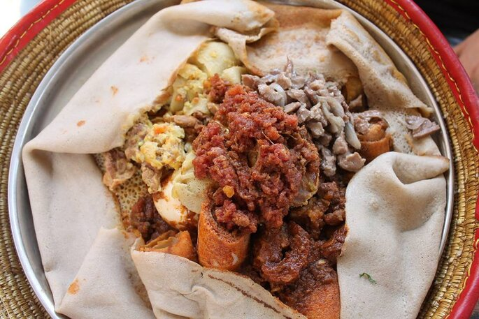 Injera - Photo : Marion Auvray