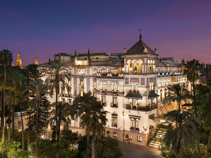 Hotel Alfonso XIII sevilla lugar bodas