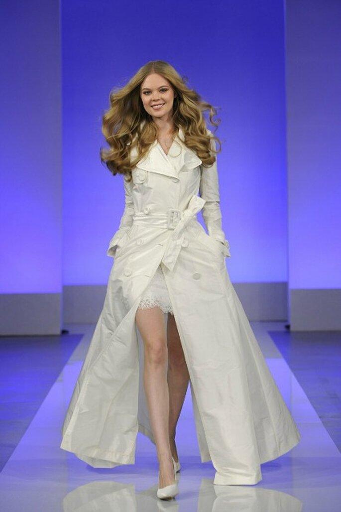 Robe de mariée Cymbeline 2013 La Parisienne, modèle Gabin - Photo : Cymbeline