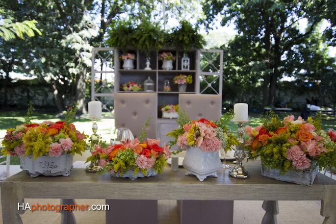 Foto Haphotographer, Muebles de Arte y Renta, Decoración floral de Taller de Tallos
