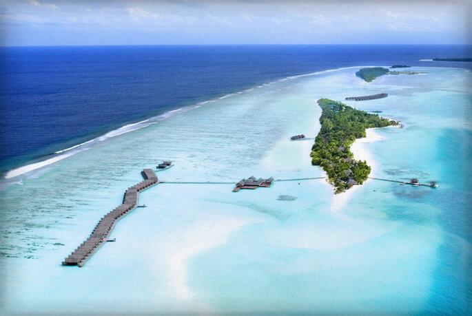 Foto via LUX Maldives
