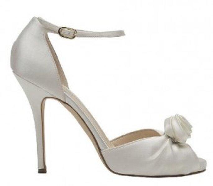 Pilard, sandalo con cinturino, tacco 10cm e applicazione floreale