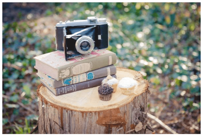 Vintage decor for your wedding - Photo: The Vintage Rental Co.