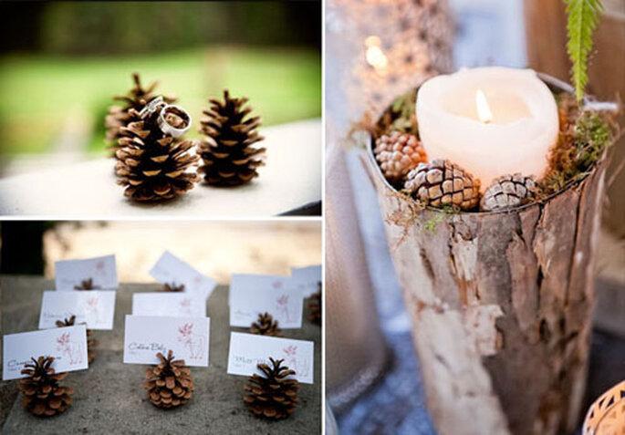 Foto via Inspired by This, Studio Fleurette, Cedarwood Weddings