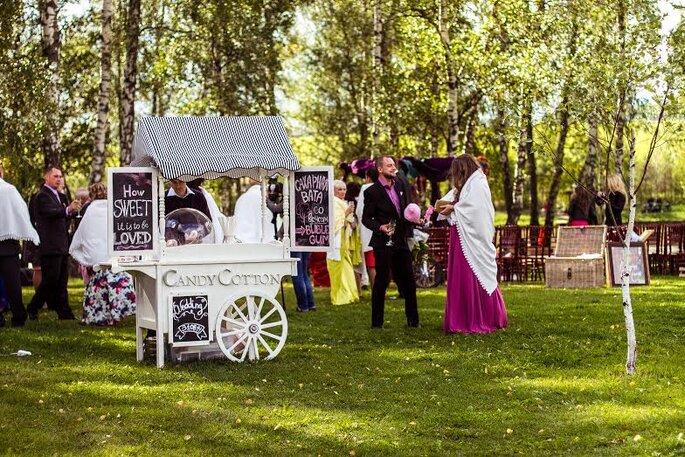 Как организовать свадьбу: свадебные тенденции 2015 Фото: Candy Cotton Shop