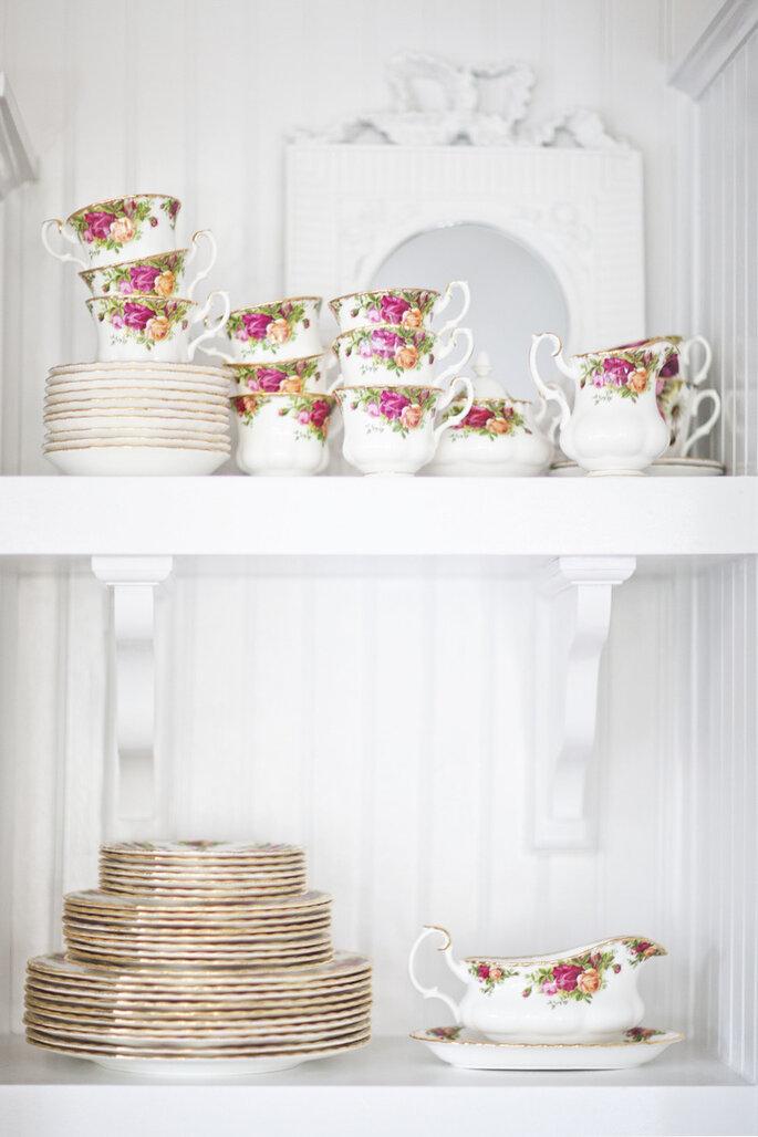 Cómo hacer que tu boda vintage sea la más hermosa sin gastar mucho - Christina Shields