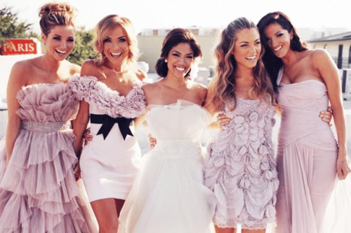 Vestidos para damas de boda en tendencia - Foto Sunkissed by Jenni