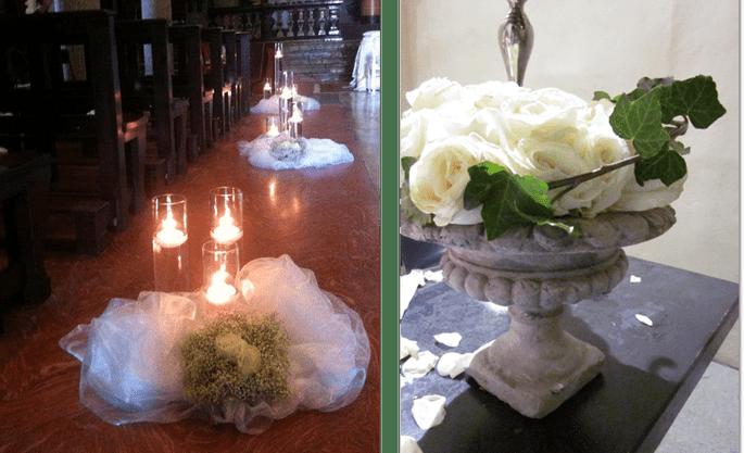 Allestimento Chiesa Amiche della Sposa