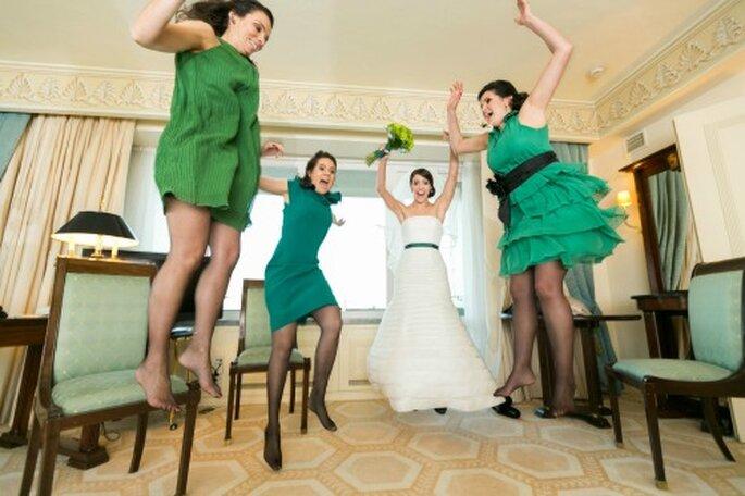 Madrinhas de Casamento e Vestidos de noiva