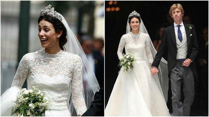 @Instagram. Matrimonio entre Alessandra de Osma y el príncipe Christian de Hannover