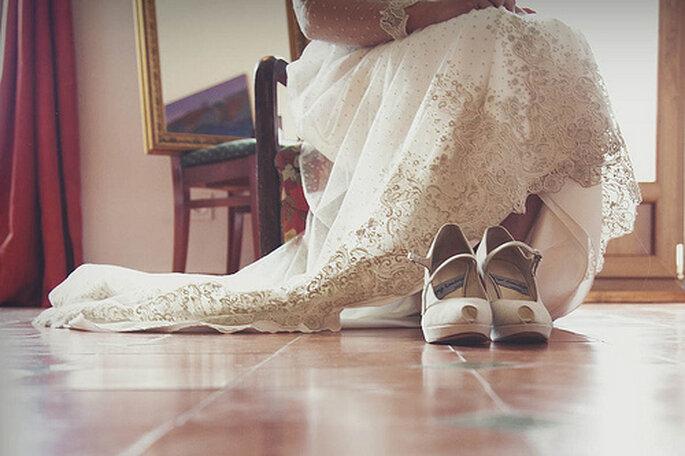 Chaussures de mariage : choisissez-les aussi chics que confortables - Photo : 35 mm fotografos