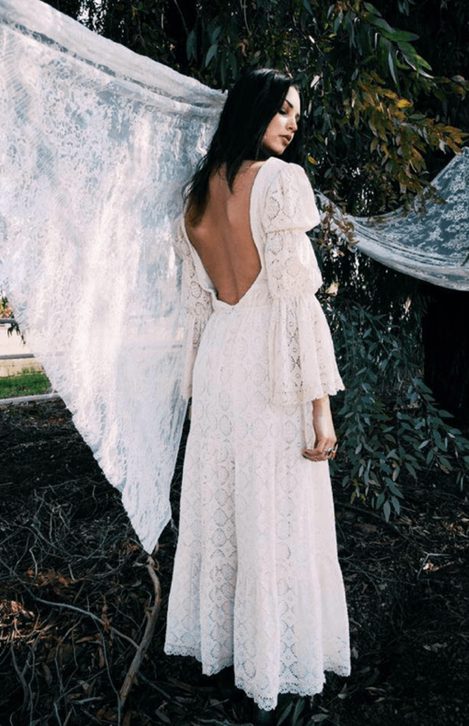 Un look de novia inspirado en un clásico romanticismo - Foto Daughters of Simone
